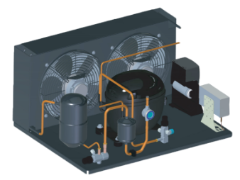 show embraco's second line of condensing units